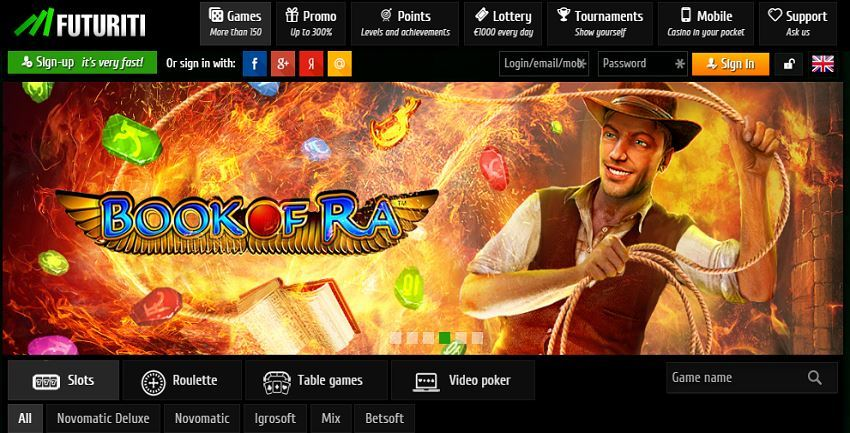 best online casino novolin