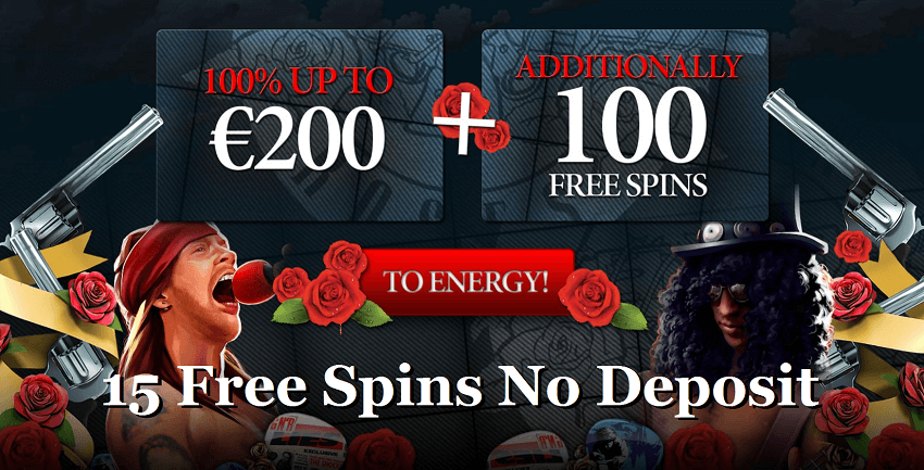 Energy Casino 15 No Deposit Free Spins