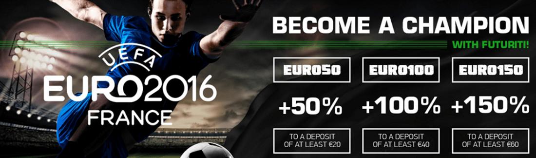 Futuriti Casino Bonus Codes EURO2016