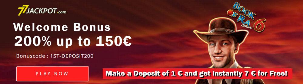 77Jackpot 7 € Free