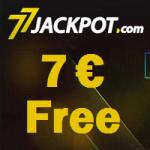 77Jackpot-Bonus 7 € Free