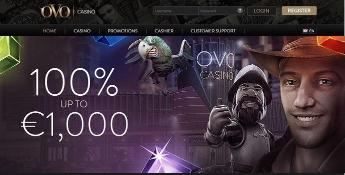 OVO Casino Bonus
